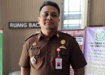 Kepala sesi pidana khusus Kejari Tanjungpinang,Aditya Rakatama.