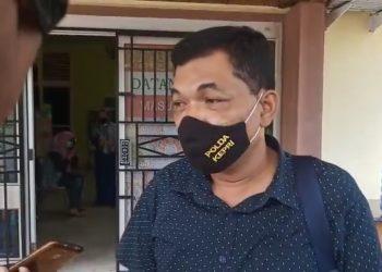 Kanit Tipikor Satreskrim Polres Tanjungpinang, Ipda Jeriko.