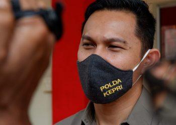Kasat Reskrim Polres Tanjungpinang, AKP Rio Reza Parindra, foto : Alamsyah/detak.media