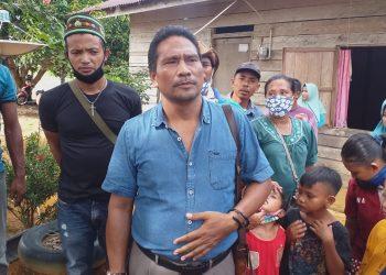 Ketua Persatuan Keluarga Flores Kepri, Ignatius Toka Solly f : mael/detak.media
