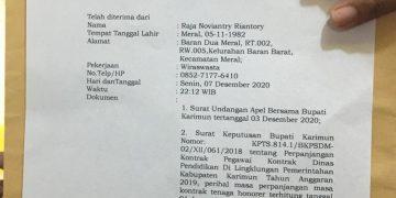 Tanda bukti Pemyampaian laporan, f : ist