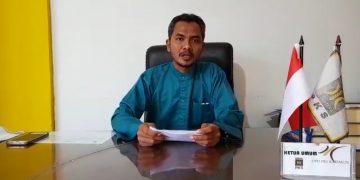 Ketua Tim Koalisi dan Relawan Pemenangan Paslon Bersinar Suyadi, f : ist