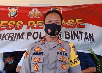 Kapolres Bintan, AKBP Bambang Sugihartono, f : Alam/detak.media